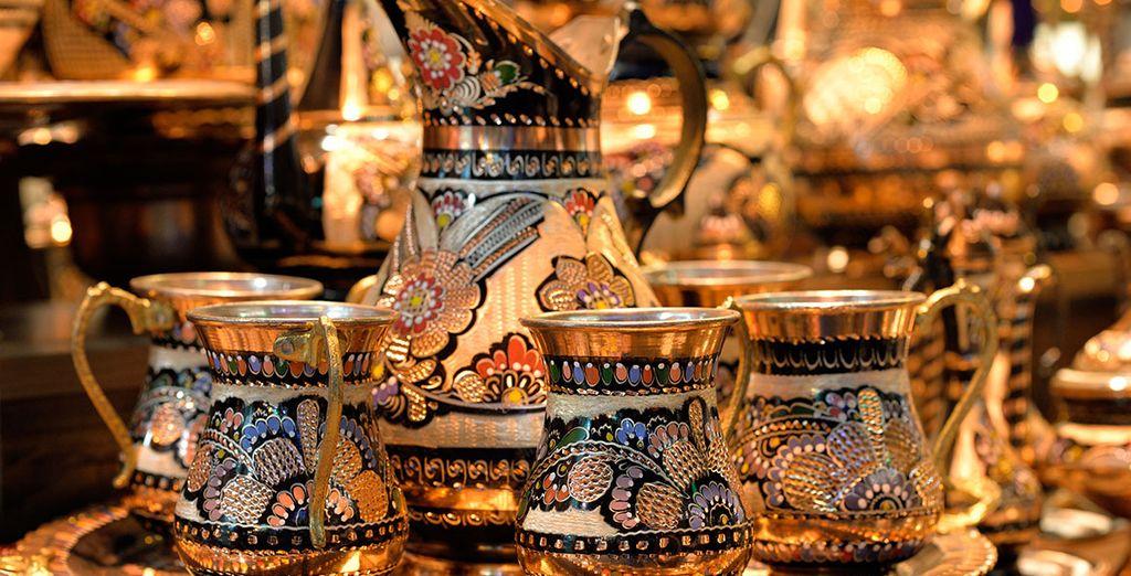 Pasee por el Gran Bazar