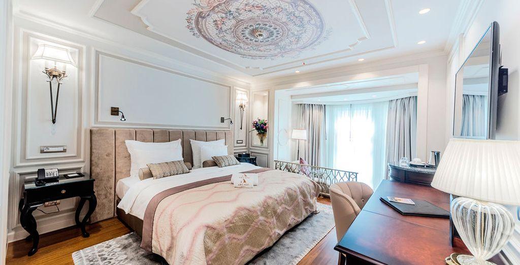 Arcade Hotel tiene una elegancia propia de la textura arquitectónica e histórica de la región - Arcade Hotel Istanbul 4* Estambul