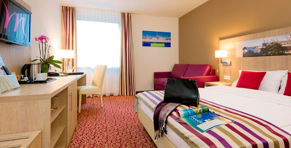 Hotel Mercure Am Volkspar 4*, Hamburgo