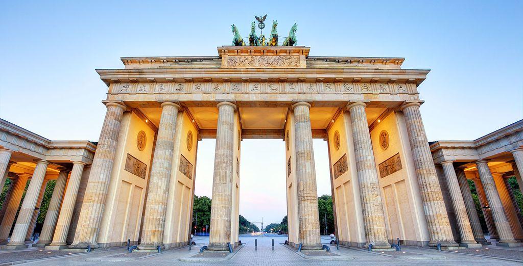 La Puerta de Brandeburgo, una visita imperdible