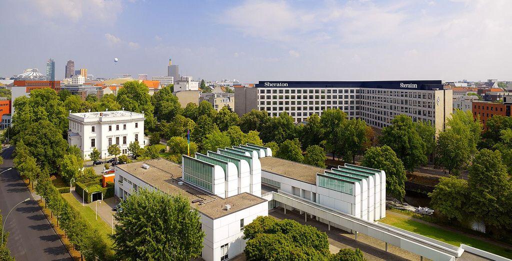 Bienvenido Sheraton Berlin Grand Hotel Esplanade 5*