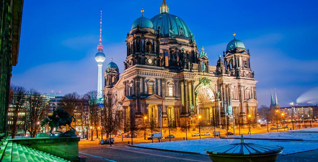 Escápate a Berlín este invierno - Sheraton Berlin Grand Hotel Esplanade 5* Berlín
