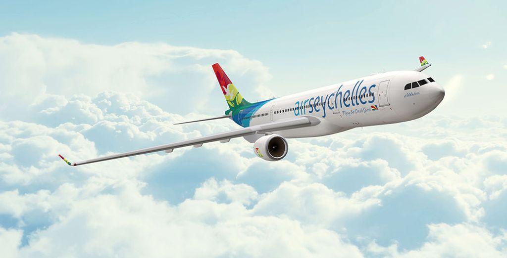 Optez pour un vol direct avec Air Seychelles