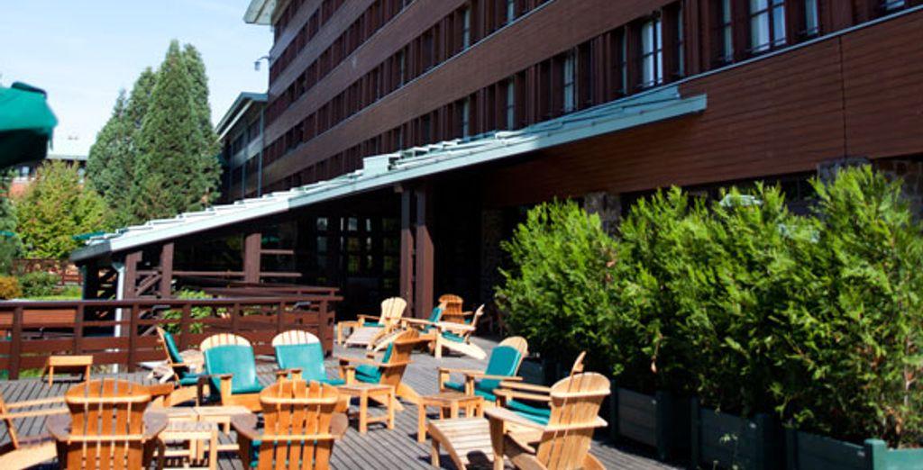 Disney 39 s sequoia lodge voyage priv jusqu 39 70 for Piscine sequoia lodge