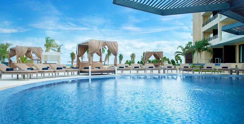 Découvrez le Hideaway at Royalton Riviera Cancun - Hideaway at Royalton Riviera Cancun 5* Puerto Morelos