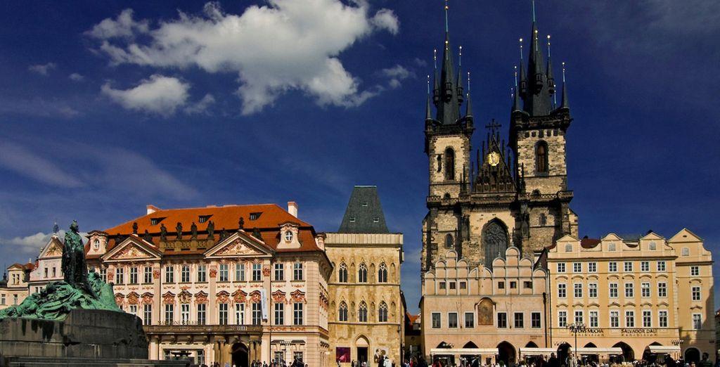 Comme le Grand tour de Prague ...