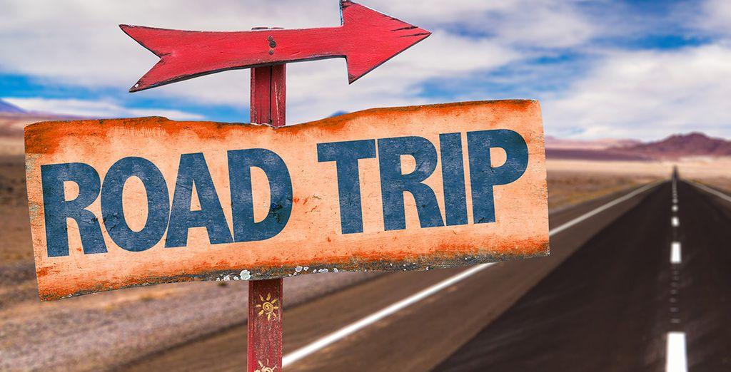 Vous vivrez un road trip sur les routes du Far West