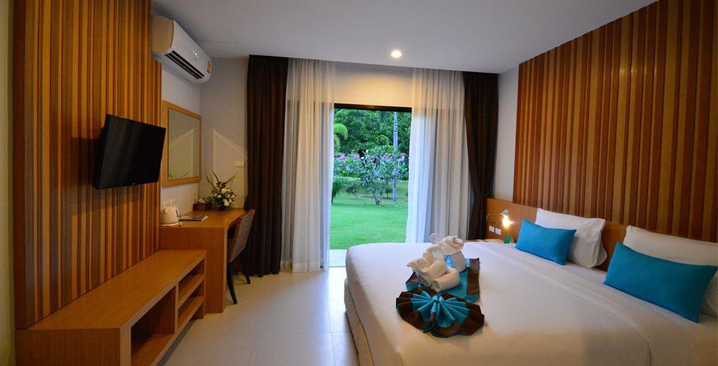 Comme le Naiyang Beach Resort & Spa à Phuket et sa chambre Deluxe