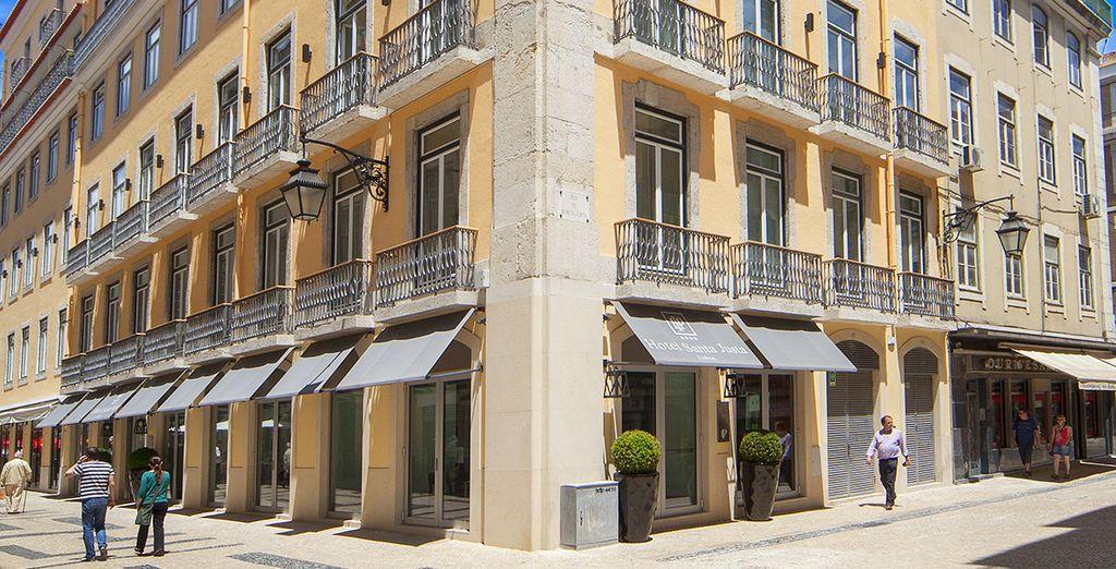 Au cœur de l'un des plus beaux quartiers de Lisbonne