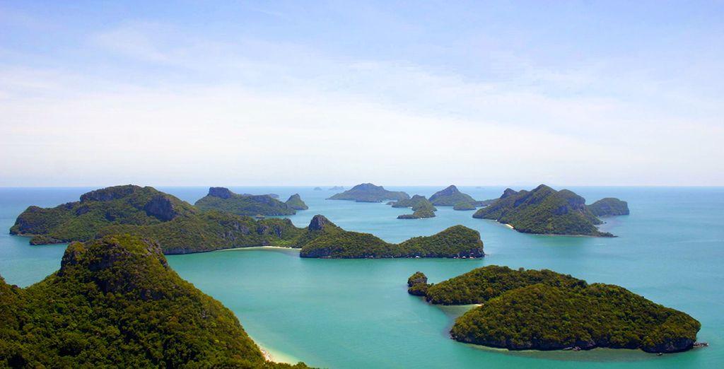Ou visitez la baie d'Ang Thong