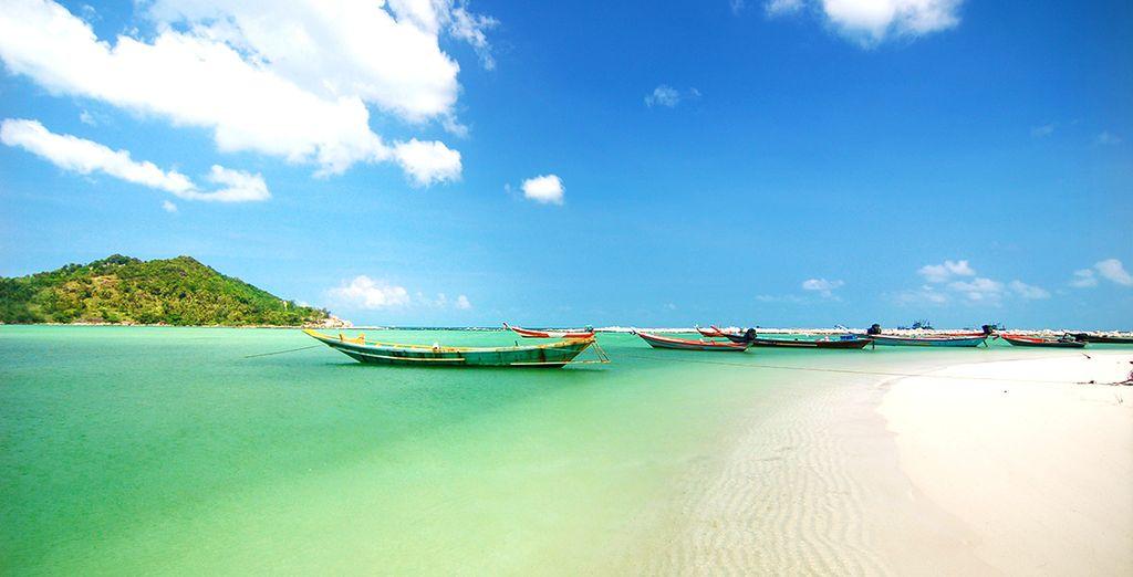 Sur l'île de Koh Phangan en Thaïlande - Kupu Kupu Beach Villas & Spa 5* Koh Phangan