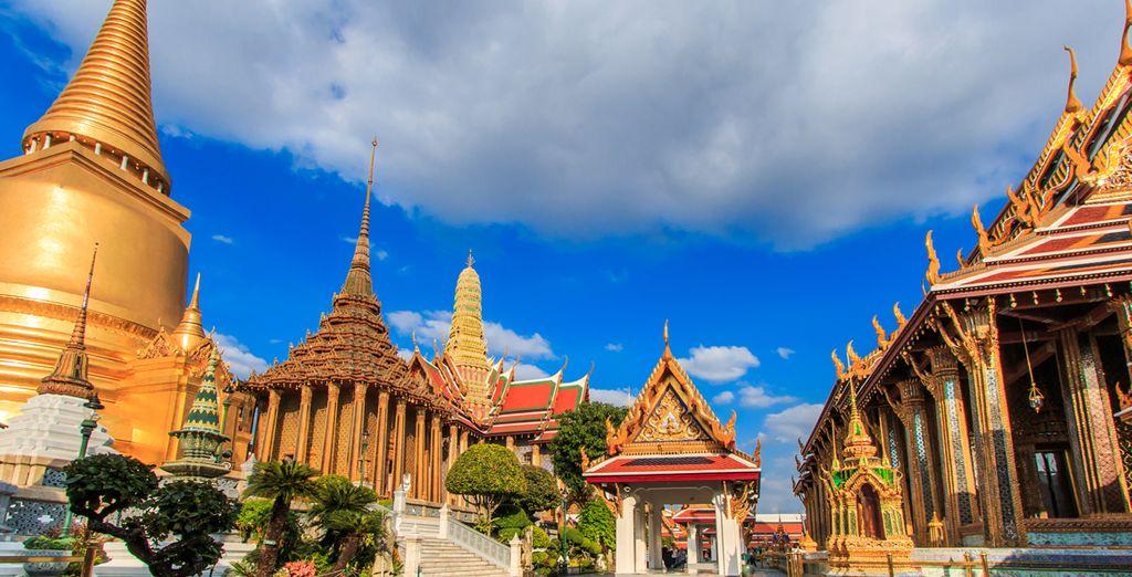 Commencez votre séjour en visitant les temples de Bangkok