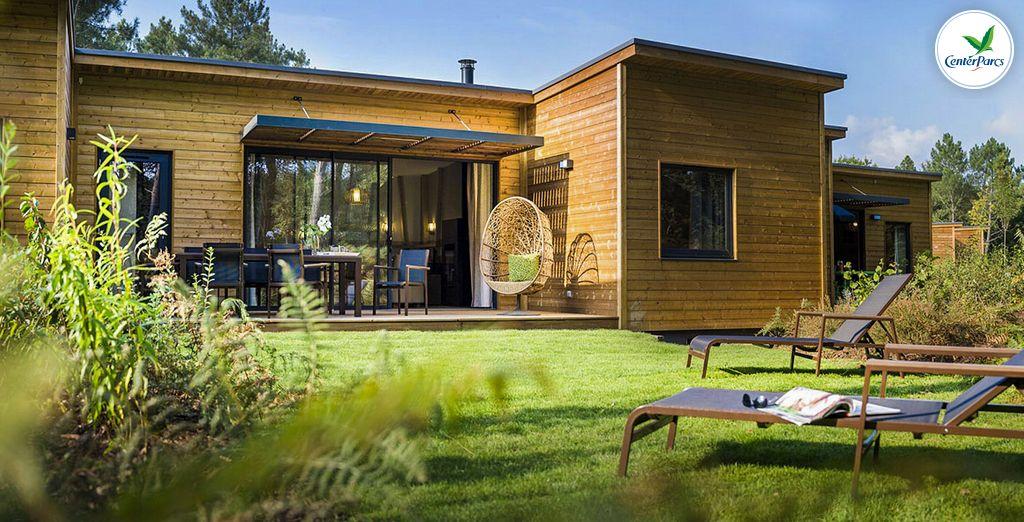 Center Parcs Domaine du Bois aux Daims Cottage Premium Voyage Privé jusqu'à 70% # Plan Cottage Bois Aux Daims