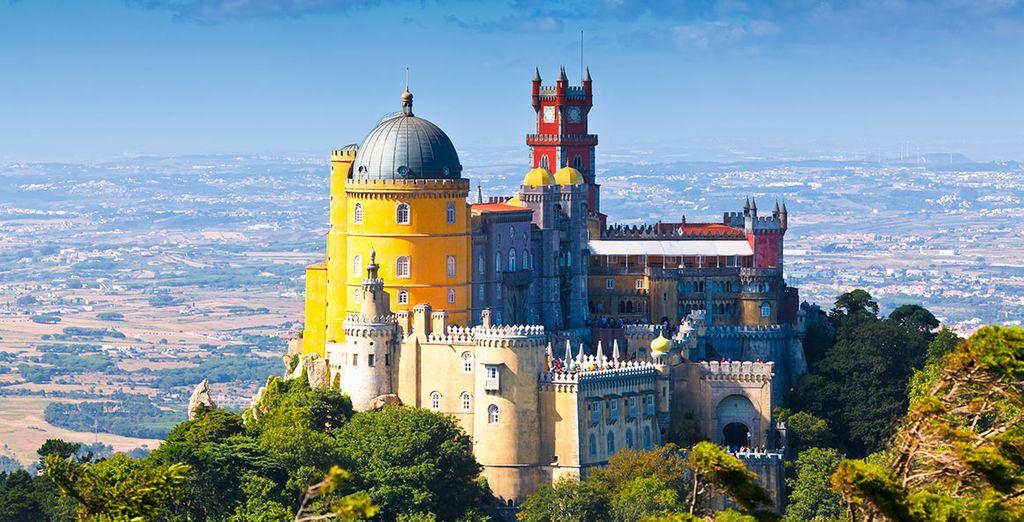 Votre itinéraire vous mènera à la rencontre de sites étonnants comme à Sintra