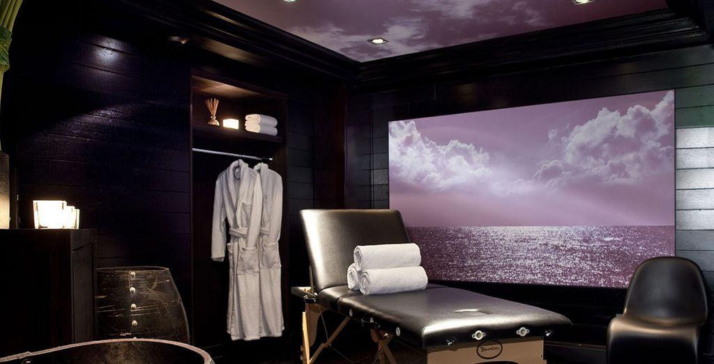 A superb spa