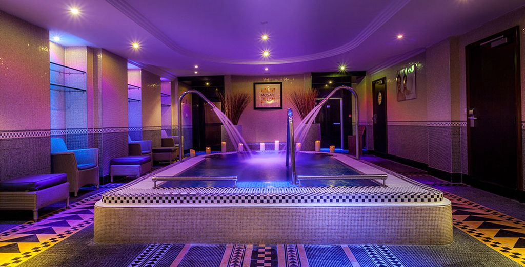 Perfect for an indulgent spa break