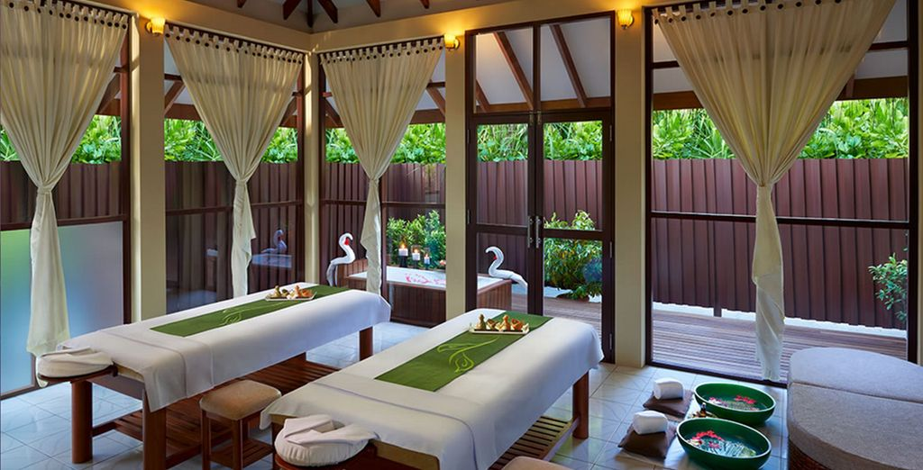 Where Balinese inspired treatments aim to re-balance and revive you