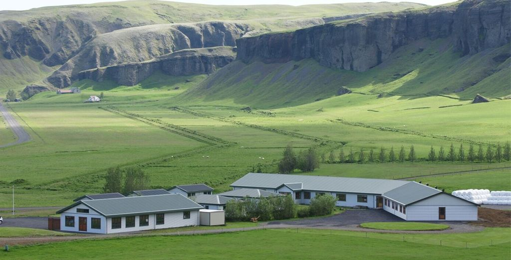 You'll then move onto Hotel Geirland - surrounded by amazing scenery