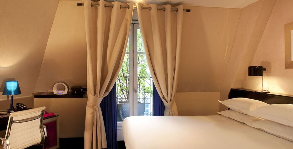 Or a lovely deluxe room