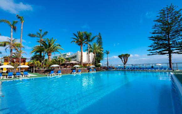 Tenerife: Puerto de la Cruz  Best Semiramis 5*