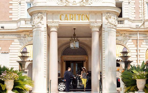 S jours cannes voyage priv for Prix chambre carlton cannes