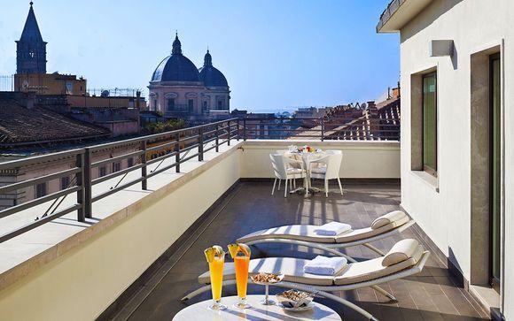 Hôtel Una Roma 4*
