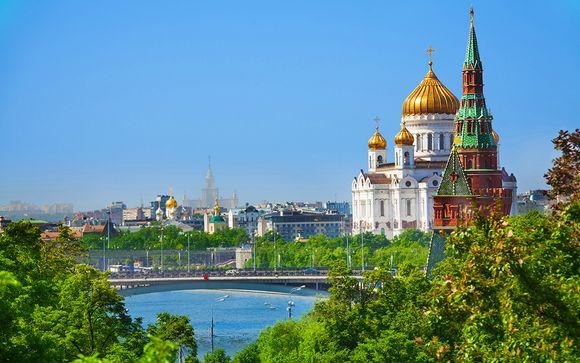 Combinato Mosca & San Pietroburgo 4*e 5*