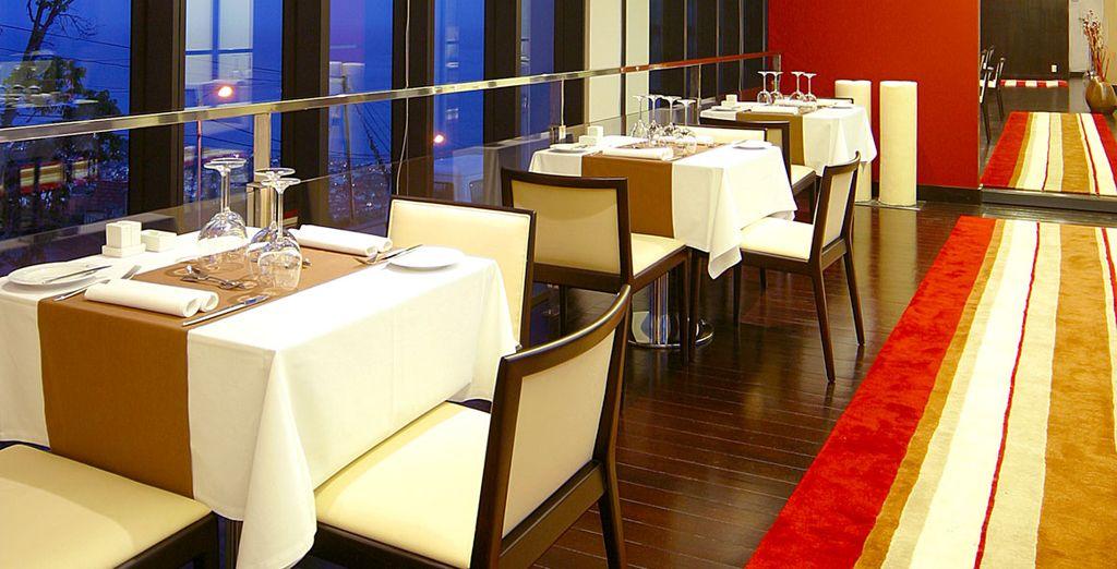 Probieren Sie die köstlichen Gerichte des Hotelrestaurants