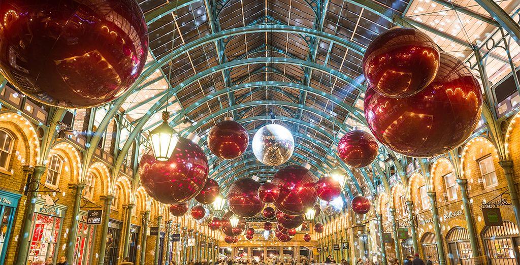 London ist vorallem während der Vorweihnachtszeit eine Reise wert
