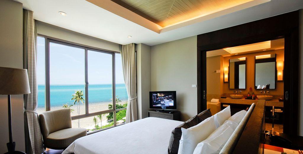 Wählen Sie zwischen einer Suite mit 1 oder 2 Schlafzimmern für Ihren gewünschten Komfort