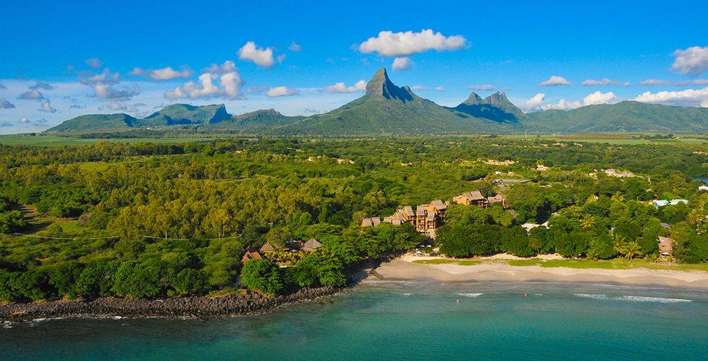 Anschließend kommen Sie im Tamarina Boutique Hotel auf Mauritius unter