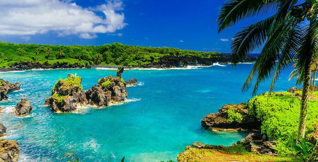 Hawaii's paradiesische Landschaft