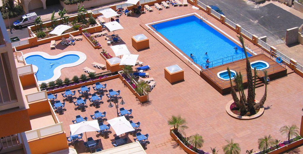Das Hotel & Spa Mangalan erwartet Sie