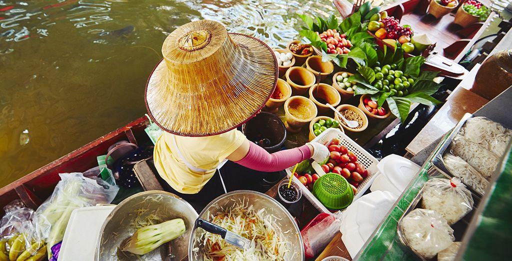 Beginnen Sie in Bangkok