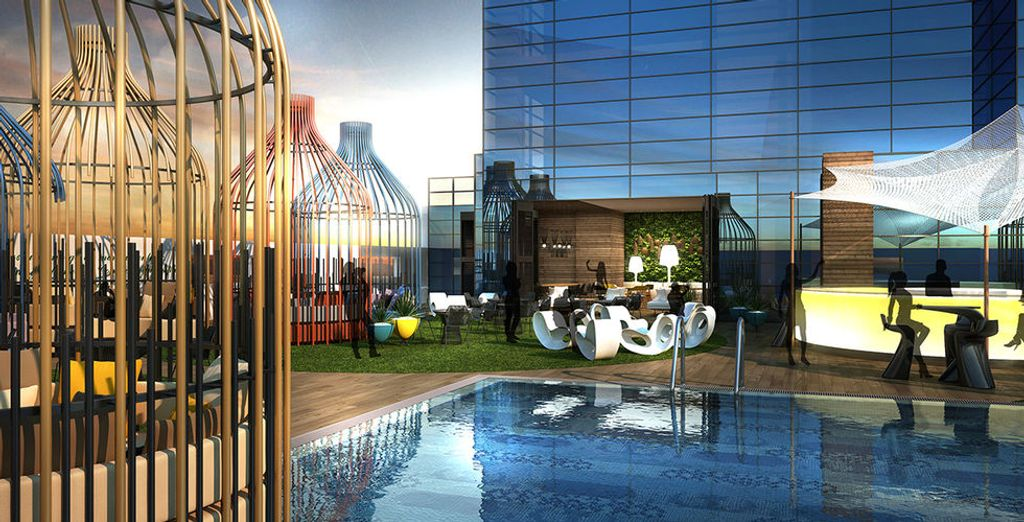 Das Doubletree by Hilton Business Bay 4* heißt Sie herzlich willkommen