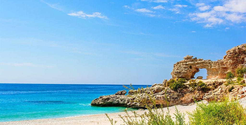 Verbringen Sie Ihren Urlaub in Albanien und bewundern Sie die wilden Landschaften