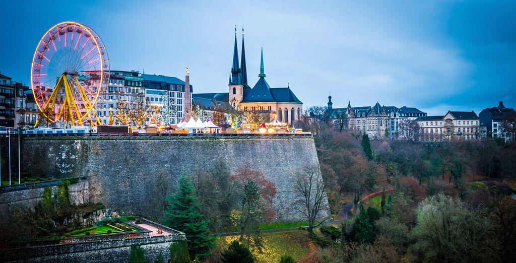 Luxemburg beeindruckt!