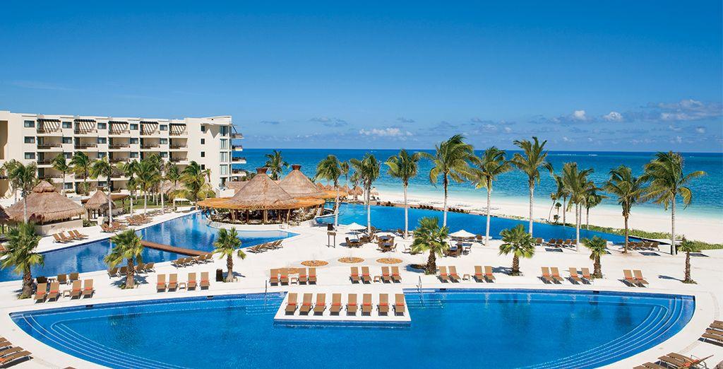 Willkommen im brandneuen Dreams Riviera Cancun auf der Halbinsel Yucutan