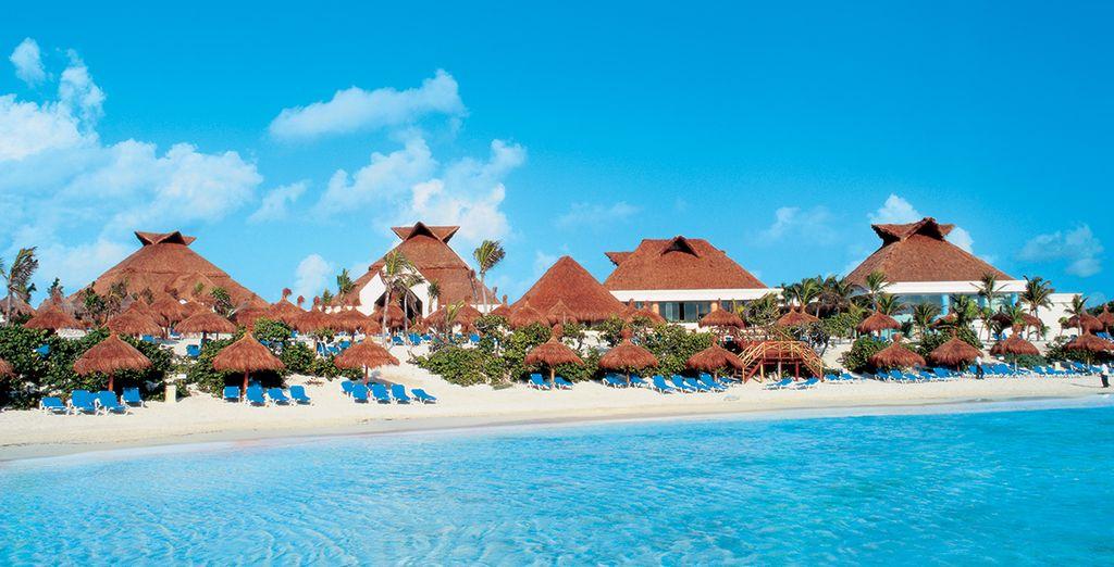 Öffnen Sie die Türen des Bahia Principe Akumal Luxus Hotels