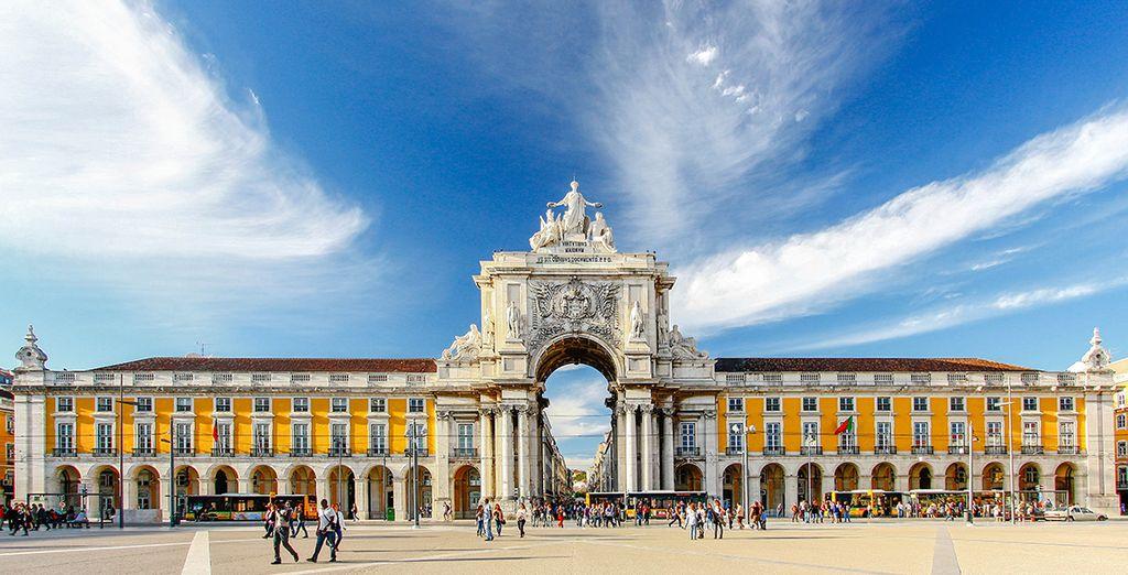 Herzlich willkommen in Lissabon