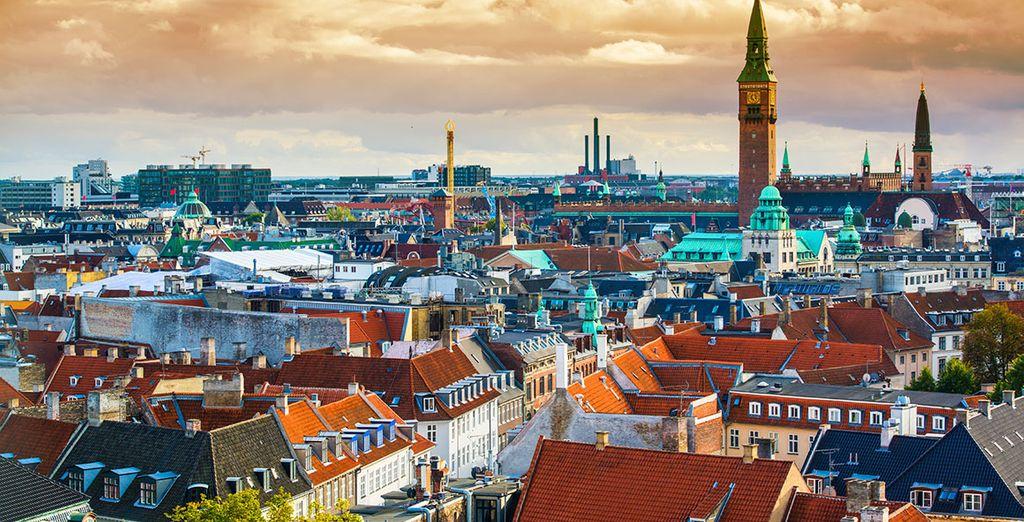 Ihre Rundreise startet in Kopenhagen