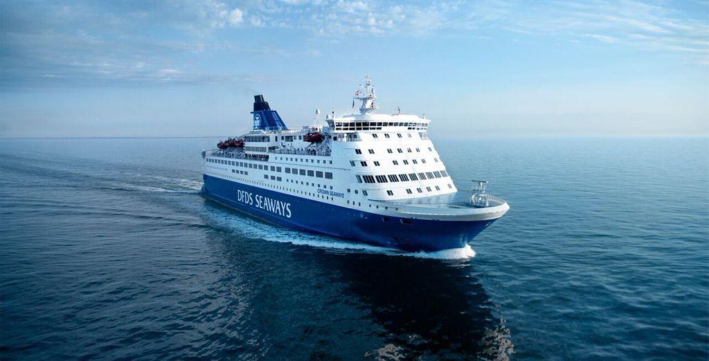 Fähren, Zug und Hotels sind für Sie organisiert und reserviert