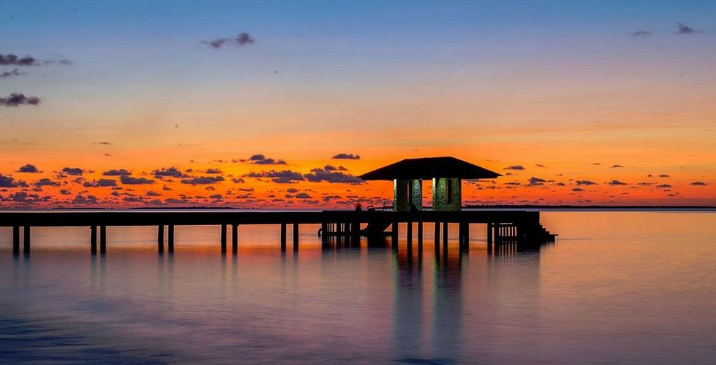 Wir wünschen Ihnen einen schönen Aufenthalt auf den Malediven!