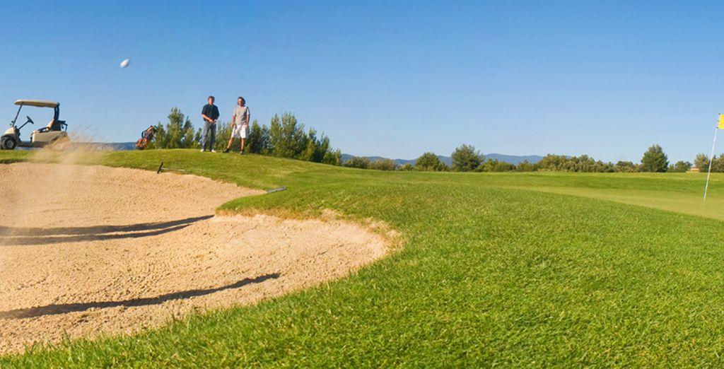 Wie wäre es mit einer Partie Golf?
