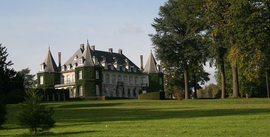 Und den schönen Park vom Schloss!