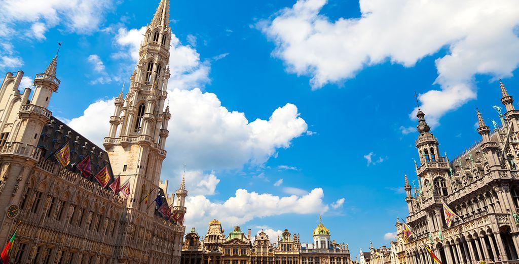 Entdecken Sie die Stadt Brüssel