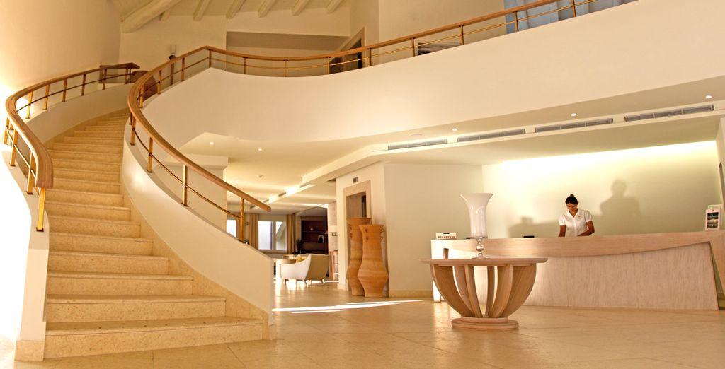 Ein luxuriöses Resort