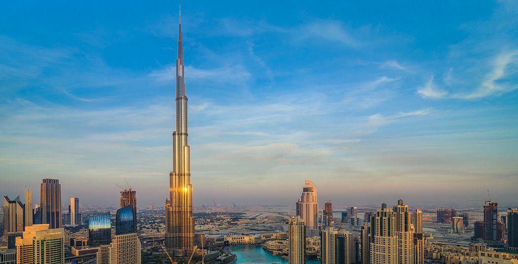 Burj Khalifa das größte Gebäude der Welt