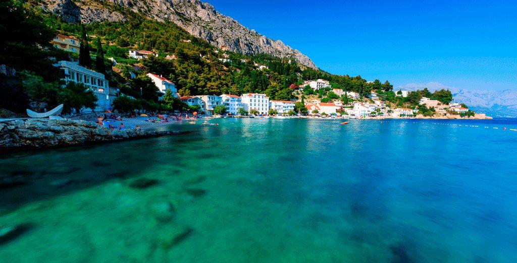 Die schönen Strände der kroatischen Küste