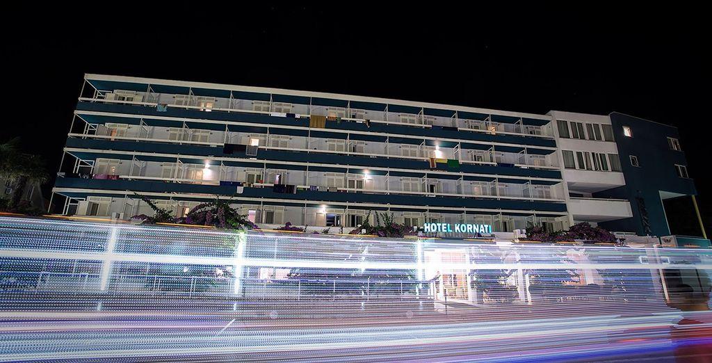 Das Hotel Kornati 4* heißt Sie herzlich willkommen!